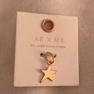 American Eagle Star Jewelry Charm